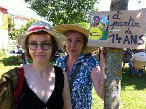 Hélène Sarrazin et Valérie Surdey
